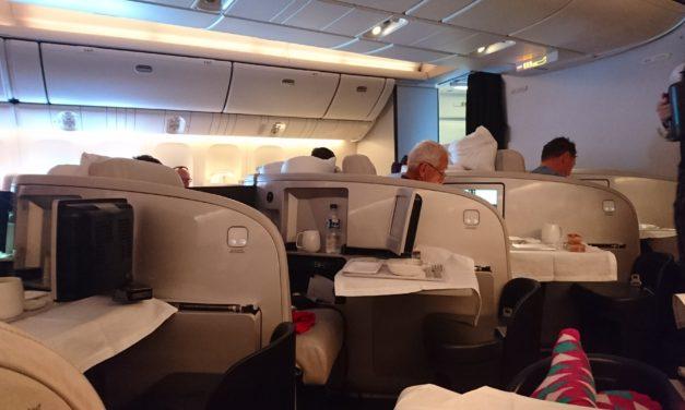 Flight Review – Air New Zealand NZ2 Business Premier from Auckland (AKL) to London Heathrow (LHR)
