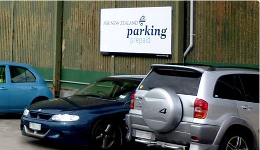 Air New Zealand closes its Wellington airport parking