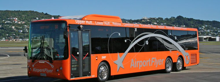 Wellington Airport Flyer bus dumps Snapper, hikes prices.