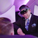 Hololens headsets on Air NZ flights?