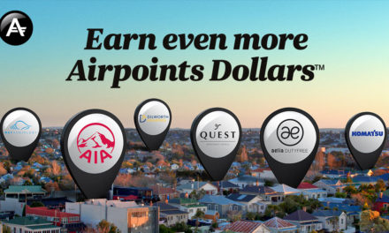 Five new places to earn Air New Zealand Airpoints