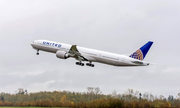 United Airlines upgrades AKL to SFO to 777-300ER