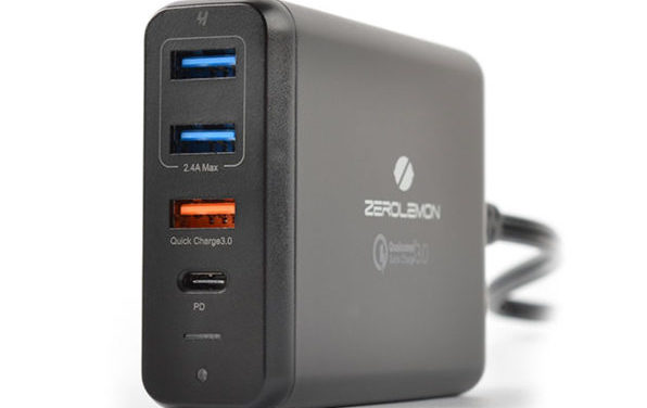 Zero Lemon 75W desktop USB charger review