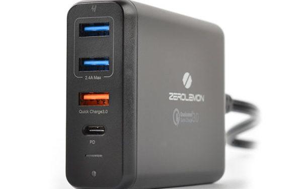 Zero Lemon 75W desktop USB charger review